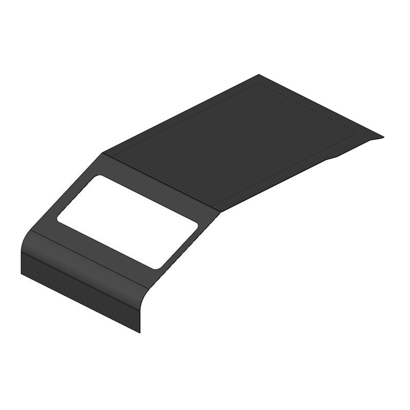 COTE POLYESTER GAUCHE IMARA GRIS ANTHRACITE 10mm
