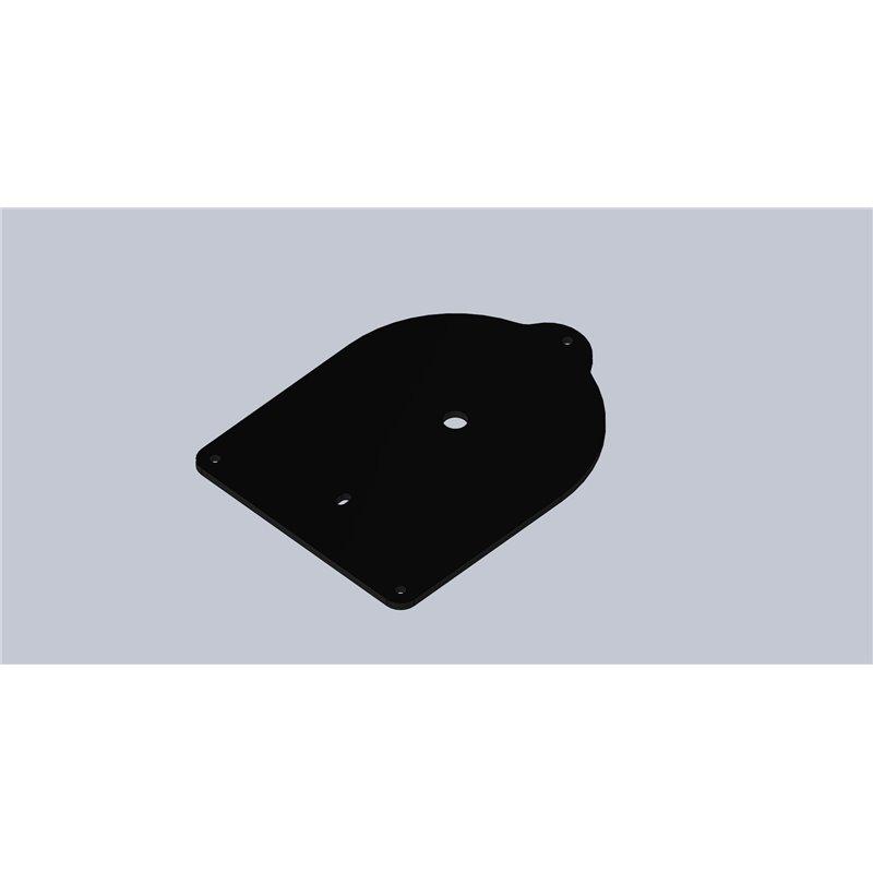 SUPPORT PLASTIQUE 169X126X4  LUMIERE INTERIEURE (Plafonnier Aspock)