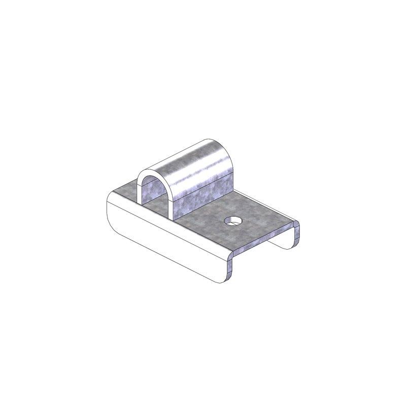 PLATINE INTERIEUR SUPPORT ROULETTE BAT FLANC D/G (INFERIEUR) OBLIC+ version E