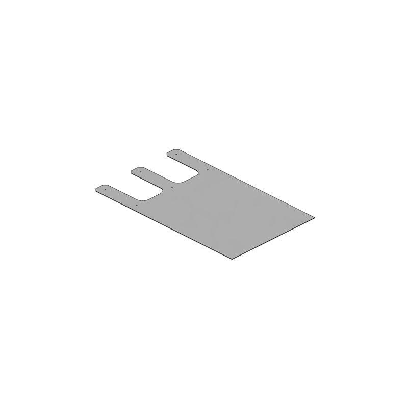 BAVETTE PVC TRANSLUCIDE 1170X700X3 BARRE SEPARATION  ISLANDAISE