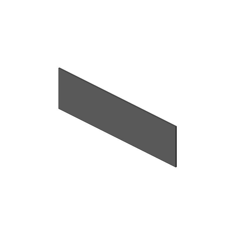 PANNEAU RODOFOAM  1645x465x12 gris réhausse sellerie avant droite OBLIC+ VICTORI