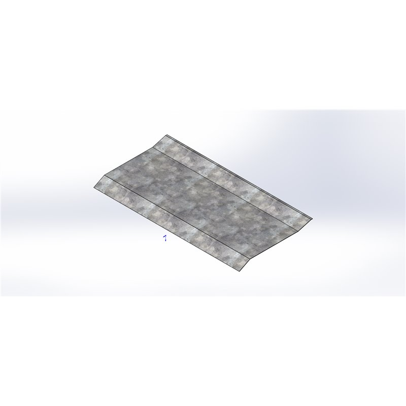 TOLE REPARATION PLANCHER SURBAISSE JMS E1 (SAV)