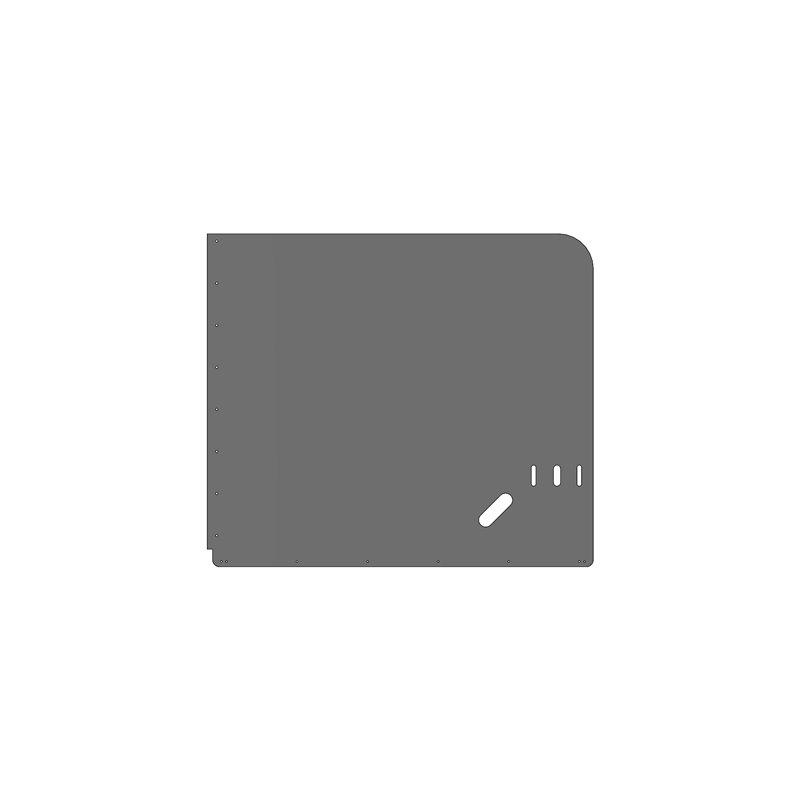 PANNEAU RODOFOAM 1100x950x12 GRIS SEPARATION OBLIC+/VICTORIUS