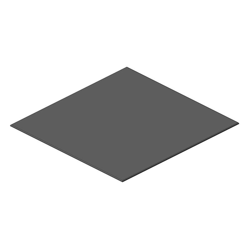 PANNEAU RODOFOAM 1495x1440x12 GRIS SELLERIE ARRIERE DROITE OBLIC+