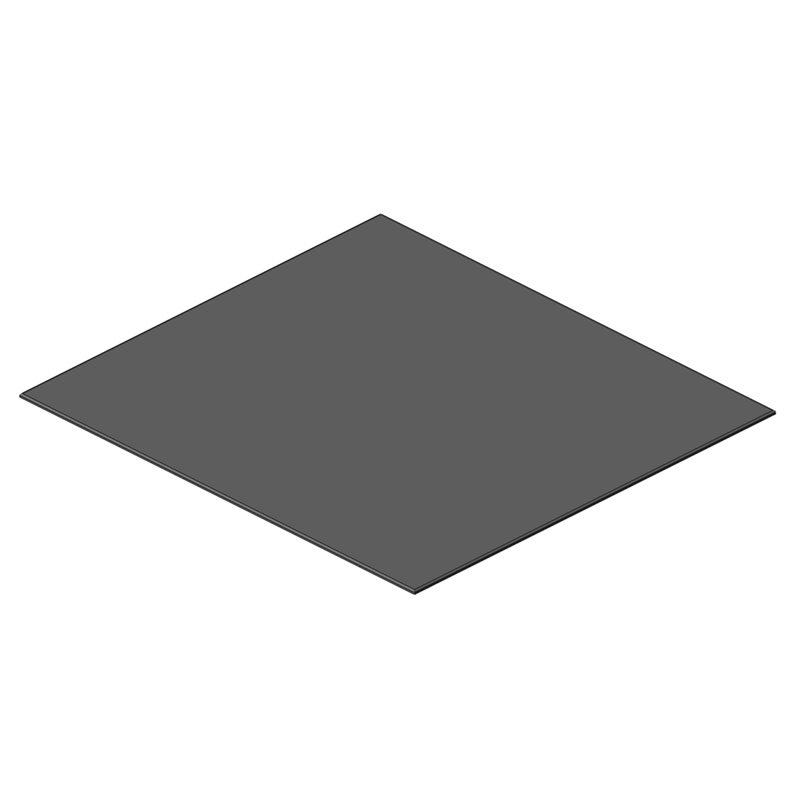 PANNEAU RODOFOAM 1495x1645x12 GRIS SELLERIE AVANT DROITE OBLIC+