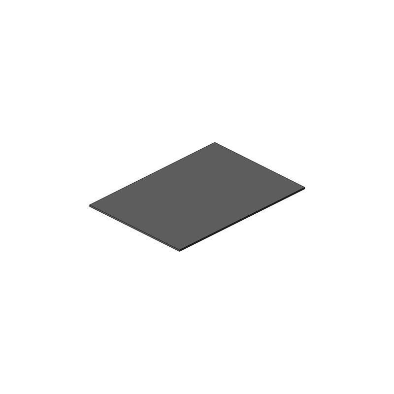 PANNEAU RODOFOAM 1125x805x12 GRIS PORTILLON OBLIC+