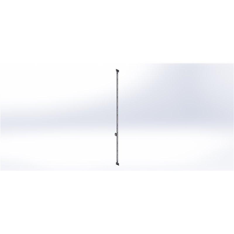 CREMONE ARRIERE GAUCHE OBLIC ICELANDIC Lht2079 (COMPLETE+KIT PORTE)