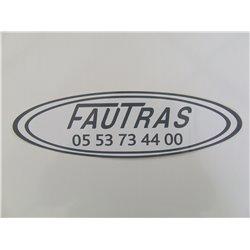 AUTOCOLLANT FAUTRAS 05 53 73 44 16