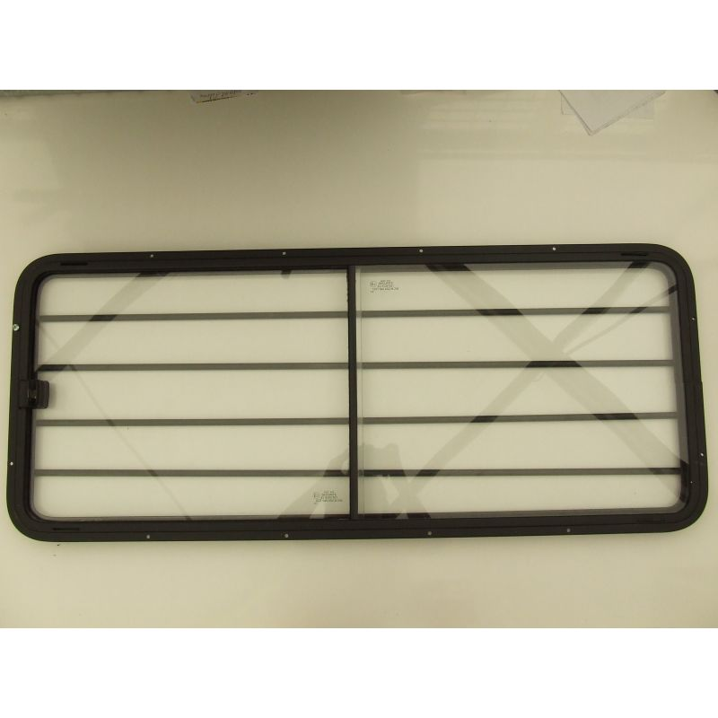 BAIE COULISSANTE 1000x400 mm+GRILLE (SAV)