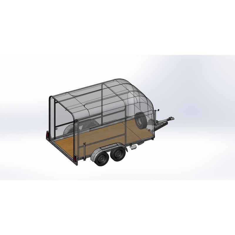 Kit arceau pour rangement OLYMPIUM 360